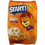 Сухие завтраки Старт хлопья кукурузные медовые 850г