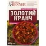Doctor Benner Gold Crunches Chocolate Crispy Baked Muesli 400g - buy, prices for Novus - image 1