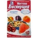Каша Овсянушка ассорти со сливками 45г х 10шт