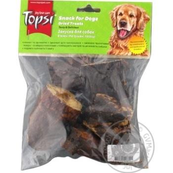 Легені яловичі сушені Topsi 60г - купити, ціни на Ашан - фото 2