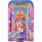 Кукла Simba Эви Принцесса с любимцем