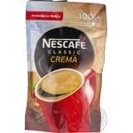 Кофе Nescafe растворимый classic crema 100г