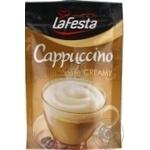Напиток Ла Феста Капучино Сливочный растворимый 100г
