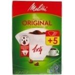 Фільтр для кави паперовий Mellitta  1*4см 40шт