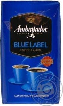 Кофе Ambassador Blue Label молотый 450г