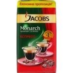 Кофе Jacobs Monarch Espresso молотый 450г