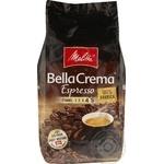 Кофе Мелитта БеллаКрема Эспрессо 100% арабика натуральный жареный в зернах 1000г Германия