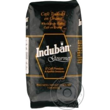 Кава смажена в зернах Induban Gourmet 453,6г