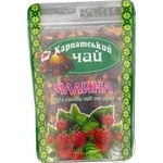 Tea Karpatsky chai fruit raspberry loose 100g sachet