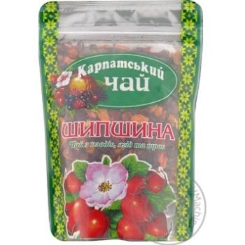Чай Карпатский Чай Шиповник из плодов ягод и трав 100г