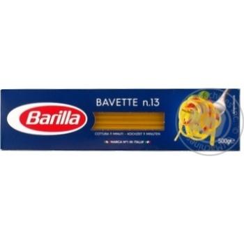 Макароны баветте Барилла Баветте №13 500г