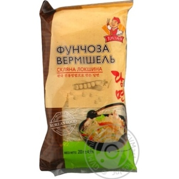 Pasta vermicelli Funchoza beans 200g - buy, prices for Novus - image 1