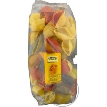 Макаронные изделия Casa Rinaldi Конкильоны Арлекино 5 цветов ракушки 500г