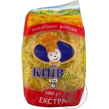 Макаронні вироби Київ-мікс Вермішель 1кг - купити, ціни на Novus - фото 3