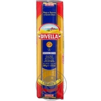 Макаронные изделия Divella Capellini №11 500г - купить, цены на Novus - фото 1