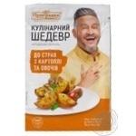 Приправа к блюдам из картофеля и овощей Приправка Кулинарный шедевр Bon Delice 30г