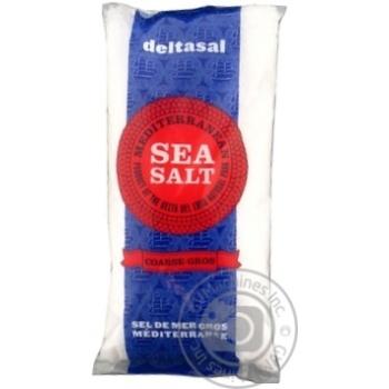 Сіль Гурме морська (крупного помолу) Deltasal 1кг