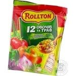 Rollton 12 vegetables and herbs with basil and tomato spices 110g