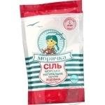 Соль Морячка морская натуральная пищевая йодированная 450г