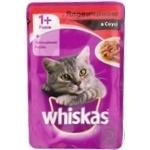 Корм для котов Whiskas с говядиной в соусе 100г - купить, цены на Novus - фото 5