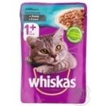 Консервы Whiskas Кролик в белом соусе для взрослых котов 100г