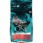 Purina One with beef and wheat for cats dry food 1500g