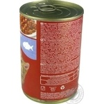 Мau! full-rationed canned pet food for adult cats With fish in delicate sauce 415g - buy, prices for Novus - image 3