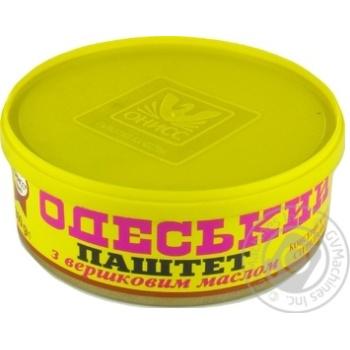 Паштет Онисс Одесский со сливочным маслом 240г
