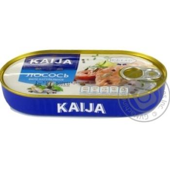 Лосось Kaija филе натуральный 170г