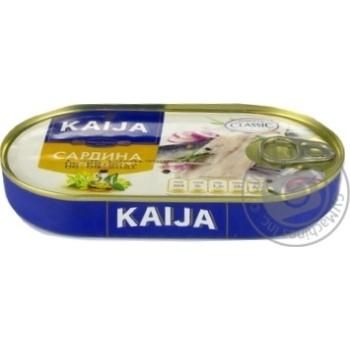 Kaija In Oil Fish Sardines