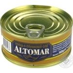 Fish tuna Altomar in olive oil 160g can