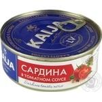 Сардина Kaija в томатном соусе 240г