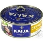 Kaija in oil atlantic mackerel 240g