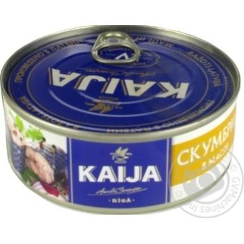 Kaija in oil atlantic mackerel 240g
