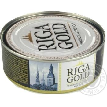 Шпроты Рижское золото в масле 240г - купить, цены на Восторг - фото 2