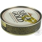 Шпроти Ризьке золото в олії 160г - купити, ціни на Novus - фото 4