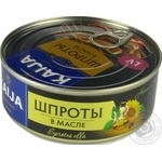 Sprats Kaija in oil 240g