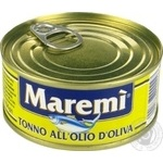 Fish tuna Maremi in olive oil 160g can