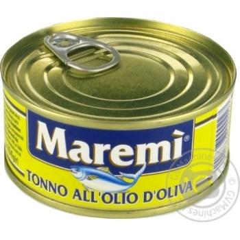 Тунец Maremi в оливковом масле 160г