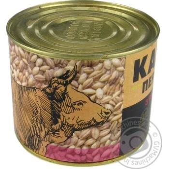 Консерви Алан Каша перлова з яловичиною 525г - купити, ціни на Novus - фото 3