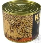 Meat Alan pork with buckwheat canned 525g - buy, prices for Novus - image 3