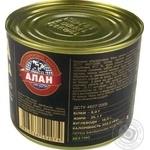 Консерви Алан Каша гречана зі свининою 525г - купити, ціни на Novus - фото 2