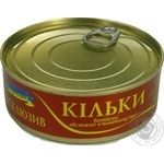 Fish sprat in tomato sauce 240g can