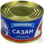 Сазан Аквамарин обжаренный в томатном соусе 230г