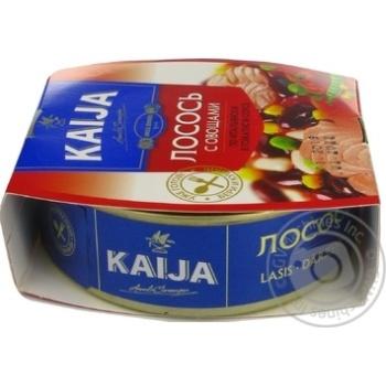 Лосось Kaija з овочами в томатному соусі 220г - купити, ціни на МегаМаркет - фото 4