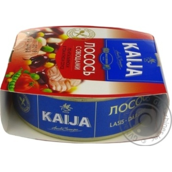 Kaija Salmon with Vegetables in Tomato Sauce 220g - buy, prices for MegaMarket - image 3