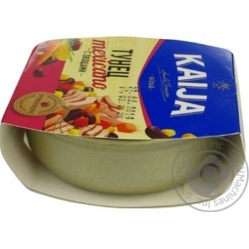 Kaija Mexicano Tuna with Vegetables 185g - buy, prices for CityMarket - photo 3