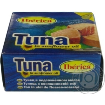 Fish tuna Iberica in oil 160g