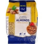 Metro chef sliced blanched almond 500g
