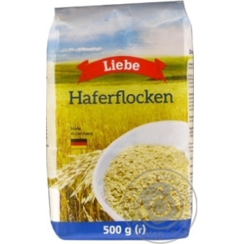 Flakes Liebe Private import oat 500g - buy, prices for Novus - image 1